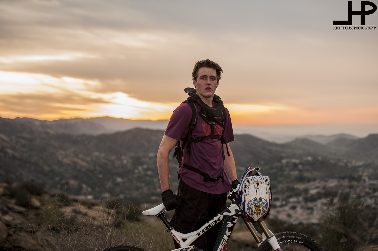 Curtis sunset - LeichtHouse photography - Mountain Biking Pictures - Vital MTB