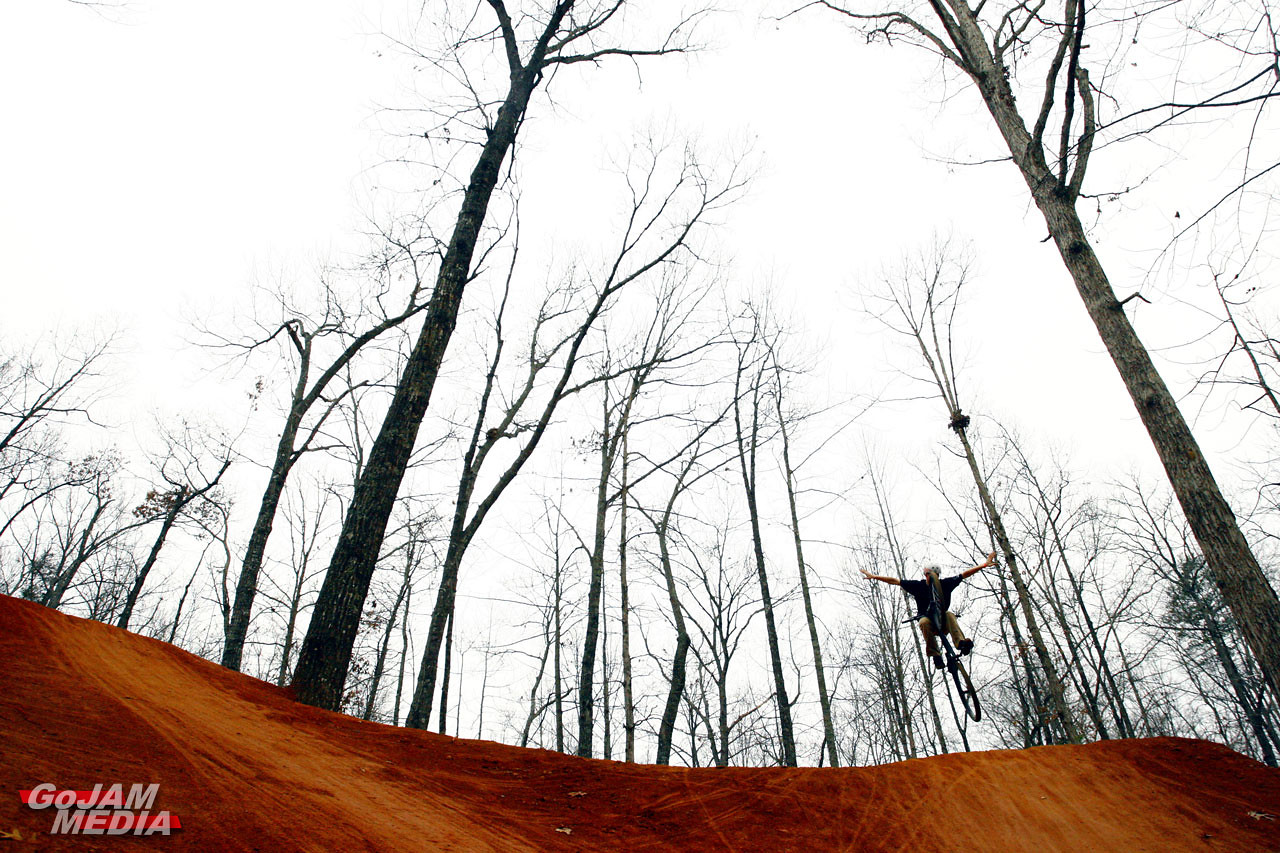 Nathan's Tree Imitation  - gojammedia - Mountain Biking Pictures - Vital MTB