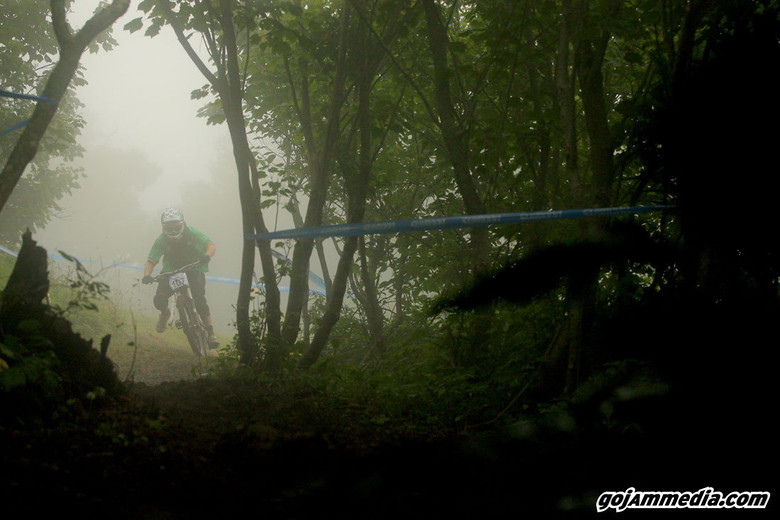 Mueller Lettin it Hang Out in the Milk - gojammedia - Mountain Biking Pictures - Vital MTB