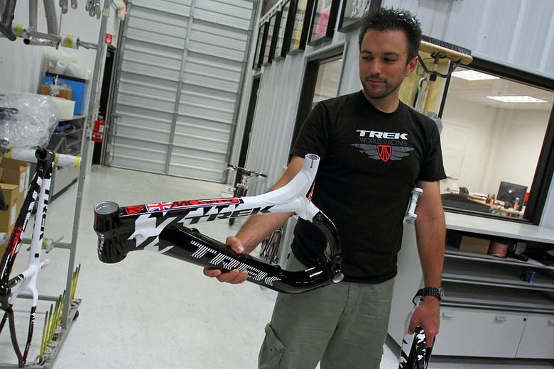 2010 Trek World Racing World Champs Frame - Trek World Racing World Champs Frames - Mountain Biking Pictures - Vital MTB