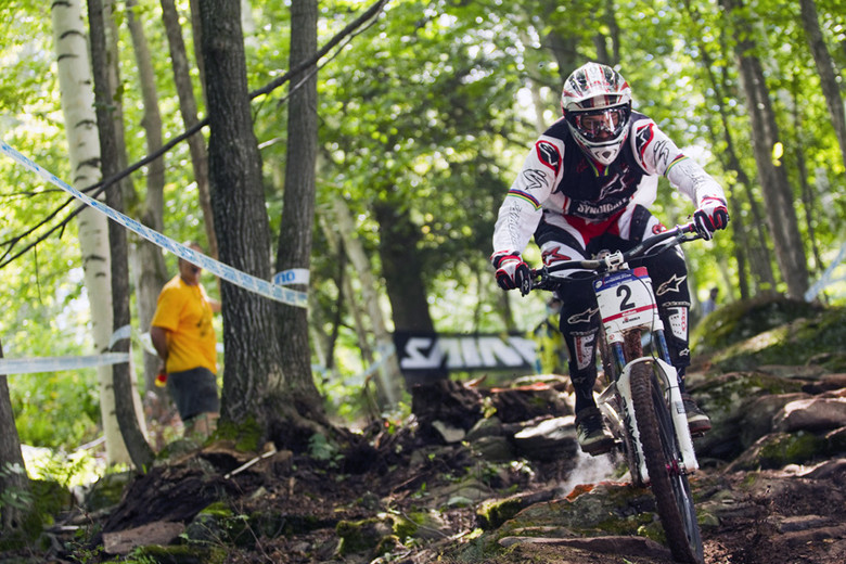 Greg Minnaar - Windham World Cup Day 2 - Mountain Biking Pictures - Vital MTB