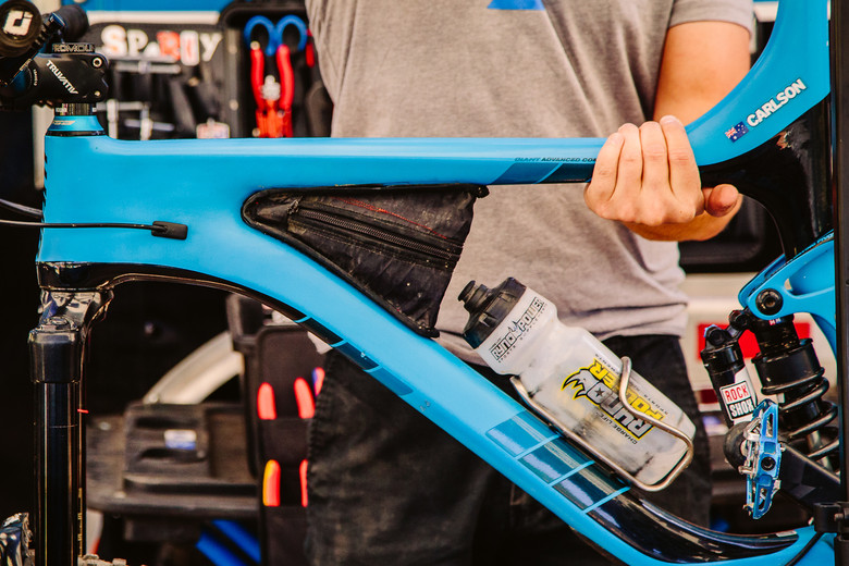 Carlson S Custom Frame Bag Pit Bits Enduro World Series Aspen