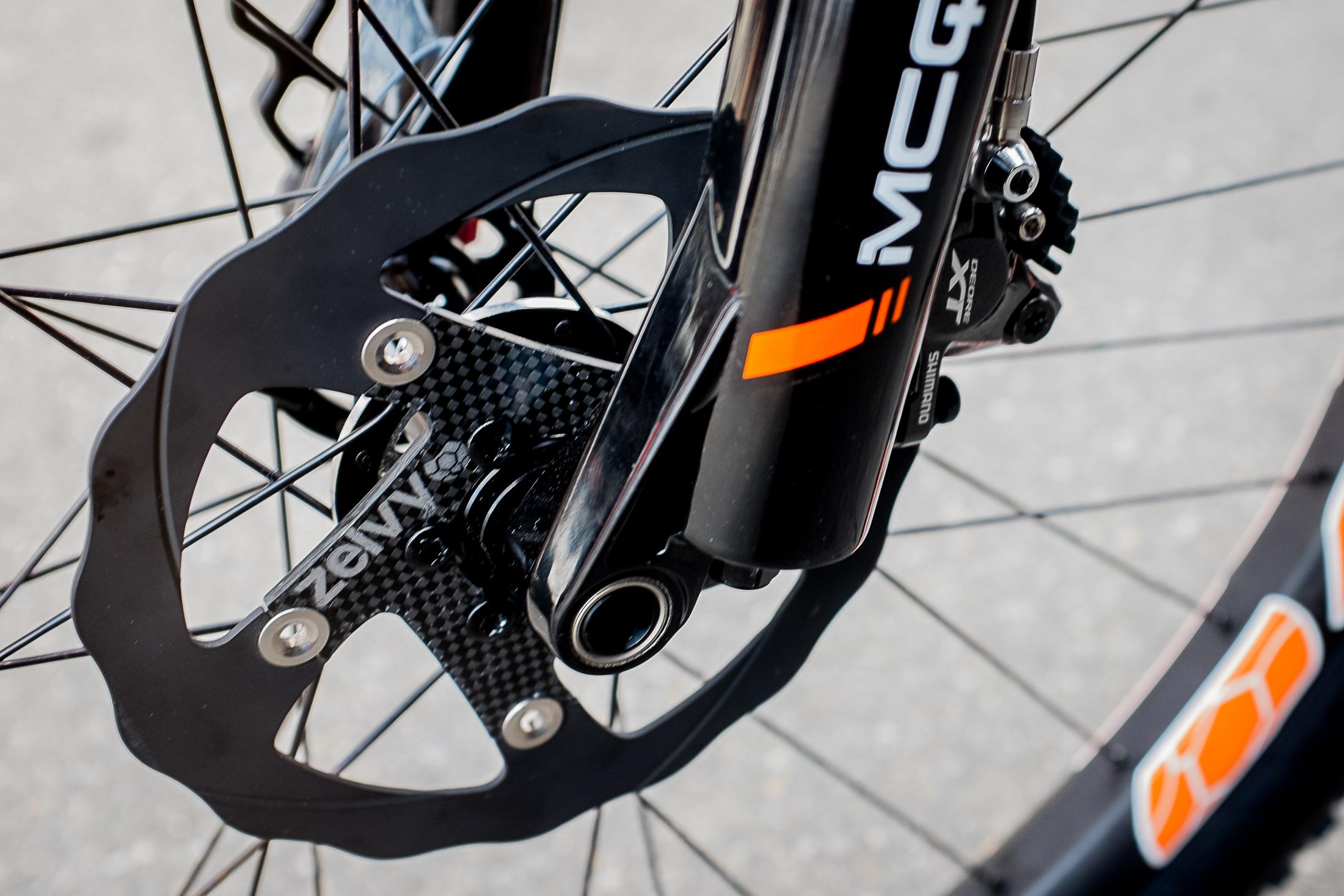 Zelvy Carbon Ceramic Disc Rotors And 36mm Wide Carbon Rims