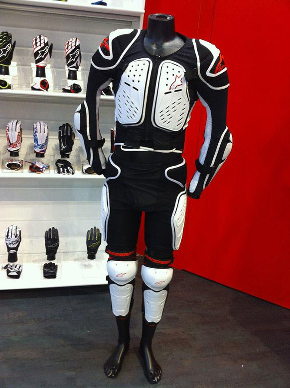 Alpinestars Armor Kit - Eurobike: Alpinestars - Mountain Biking Pictures - Vital MTB