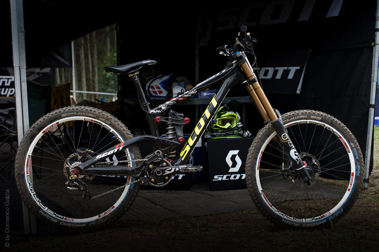 Prototype Scott Gambler DH Bike - Prototype Scott Gambler DH Bike - Mountain Biking Pictures - Vital MTB
