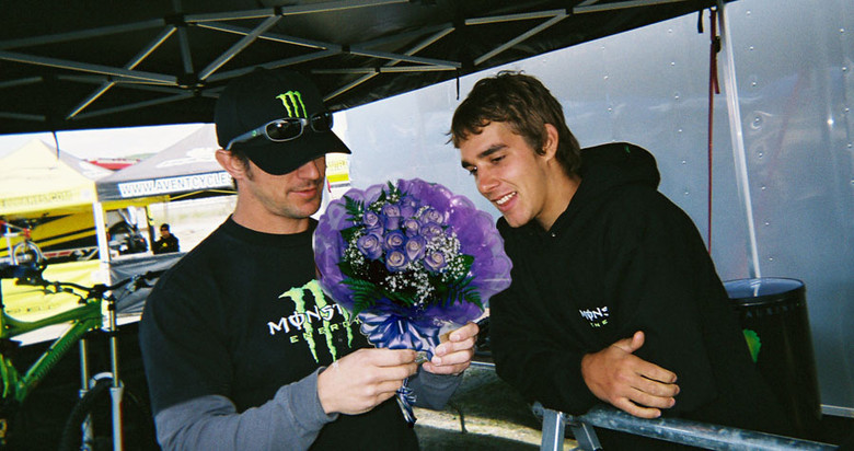 Flowers? - Sea Otter Classics, PhotoChop Project with Sam Hill - Mountain Biking Pictures - Vital MTB