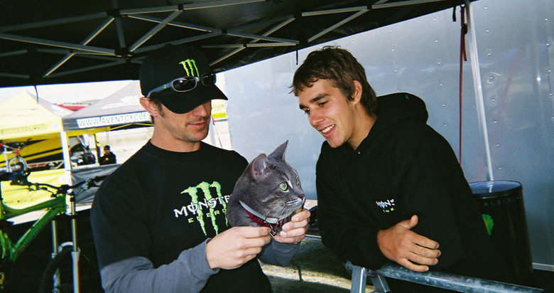 Was it a cat head? - Sea Otter Classics, PhotoChop Project with Sam Hill - Mountain Biking Pictures - Vital MTB