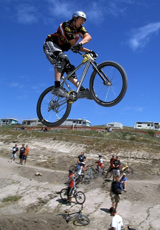 Kyle Ebbett X-Up - Sea Otter Classics, 2003 - Mountain Biking Pictures - Vital MTB