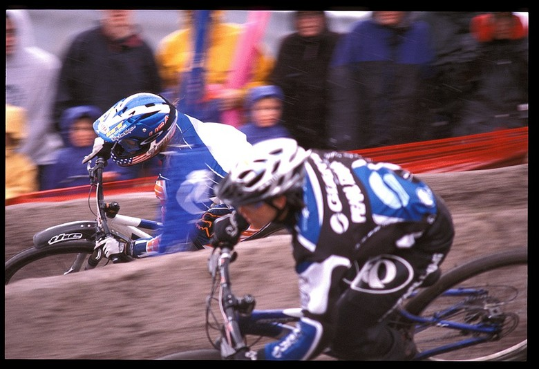 Leigh Donovan and Tara Llanes Dual Slalom - Sea Otter Classics, 2003 - Mountain Biking Pictures - Vital MTB