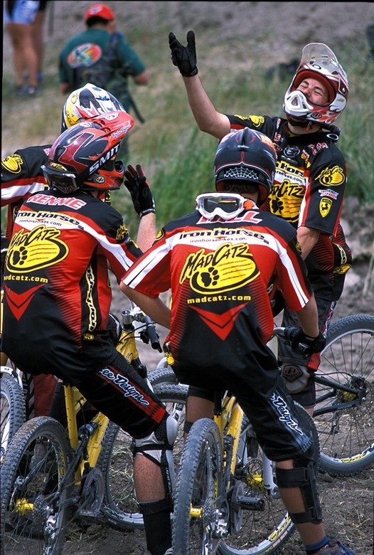 The Iron Horse Super Team - Sea Otter Classics, 2003 - Mountain Biking Pictures - Vital MTB