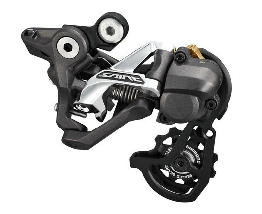 2013 Shimano Saint Shadow Plus Rear Derailleur - 2013 Shimano Zee and Saint Groups - Mountain Biking Pictures - Vital MTB