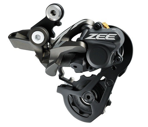 2013 Shimano Zee Shadow Plus Rear Derailleur - 2013 Shimano Zee and Saint Groups - Mountain Biking Pictures - Vital MTB