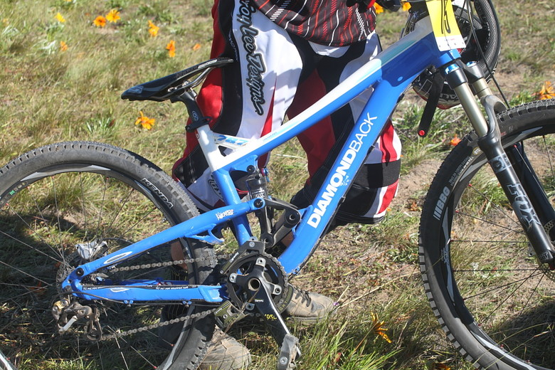 Kyle Thomas' Diamondback Dreamliner - Pro Dual Slalom Bikes at Sea Otter 2012 - Mountain Biking Pictures - Vital MTB
