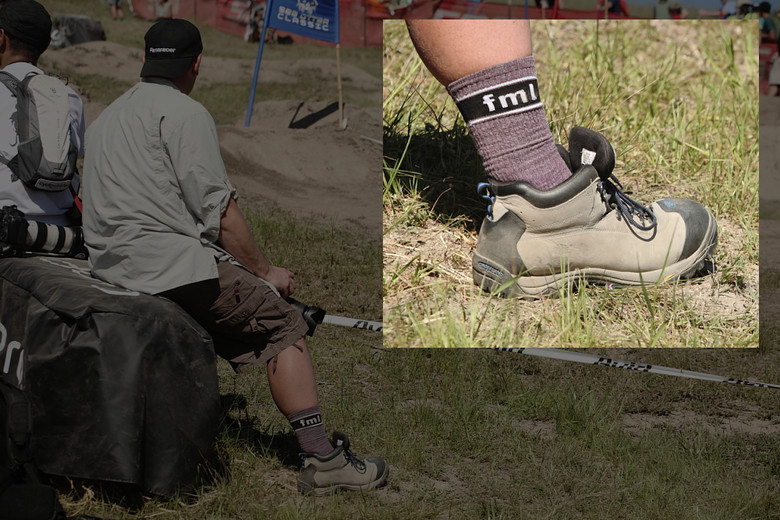 Did Sven Start a Sock Company? - 2012 Sea Otter Gravity Wrap Up - Mountain Biking Pictures - Vital MTB