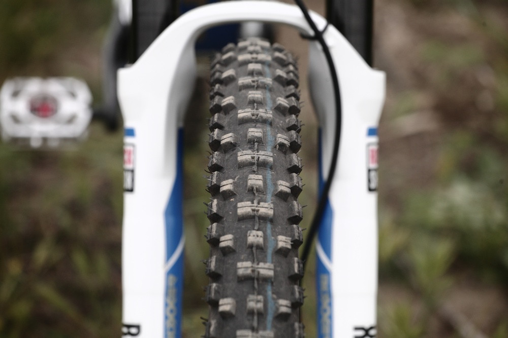 Schwalbe Muddy Mary Tires Front and Rear - Andrew Neethling's 2012 Giant Glory and Reign Bikes - Mountain Biking Pictures - Vital MTB