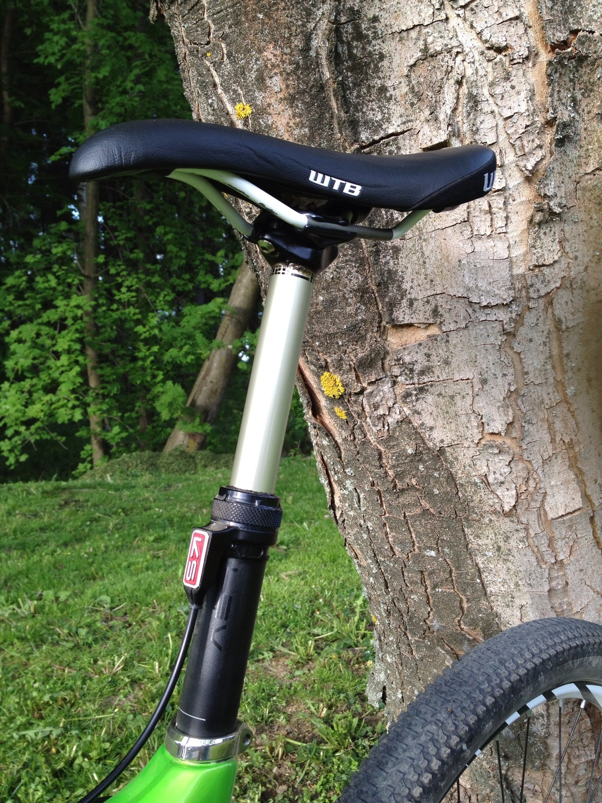 Lev Seatpost Brian Lopes Ibis Tranny Xc Eliminator Bike