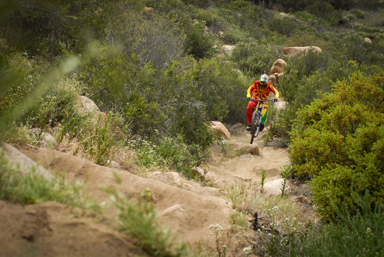 Wide Open - Brendan Fairlcough Riding in 2013 Troy Lee Gear - Mountain Biking Pictures - Vital MTB