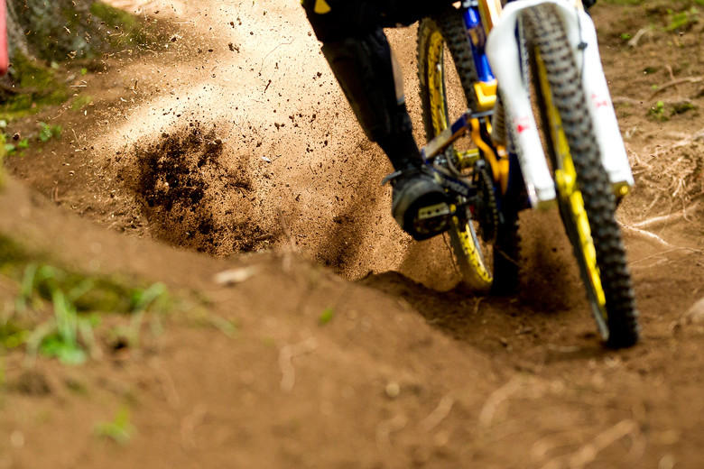 Spike Tires at Val di Sole - 2012 UCI World Cup, Val di Sole Day 2 - Mountain Biking Pictures - Vital MTB