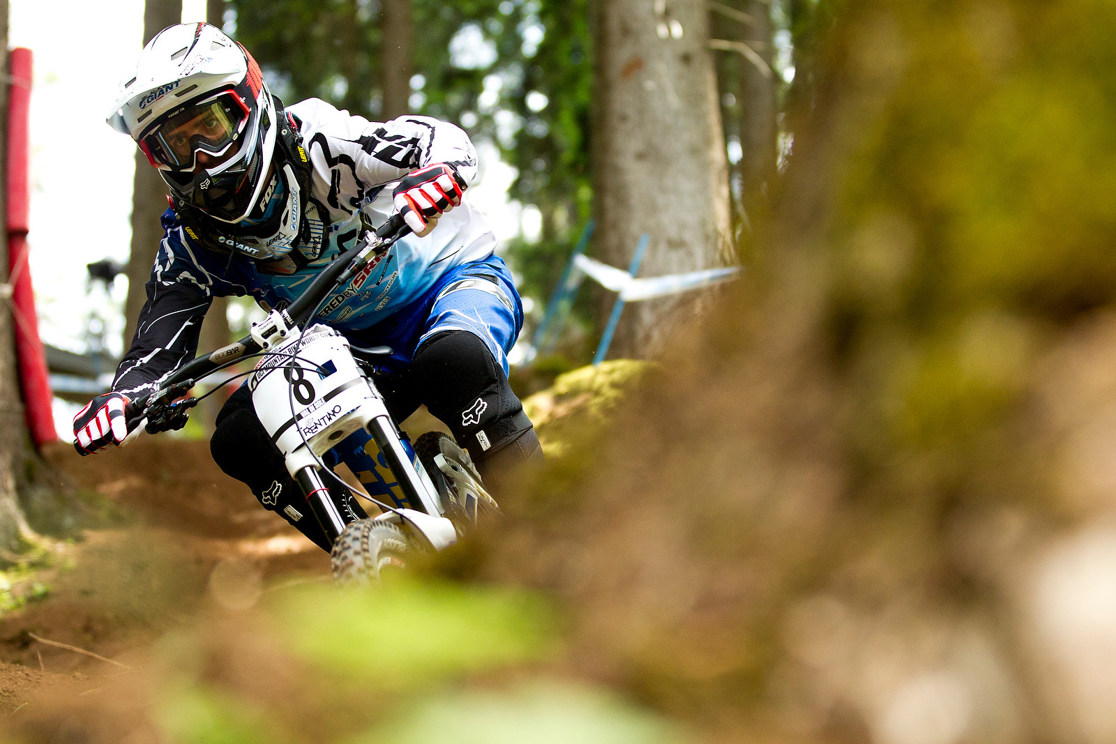Andrew Neethling, Val di Sole Downhill Practice - 2012 UCI World Cup, Val di Sole Day 2 - Mountain Biking Pictures - Vital MTB