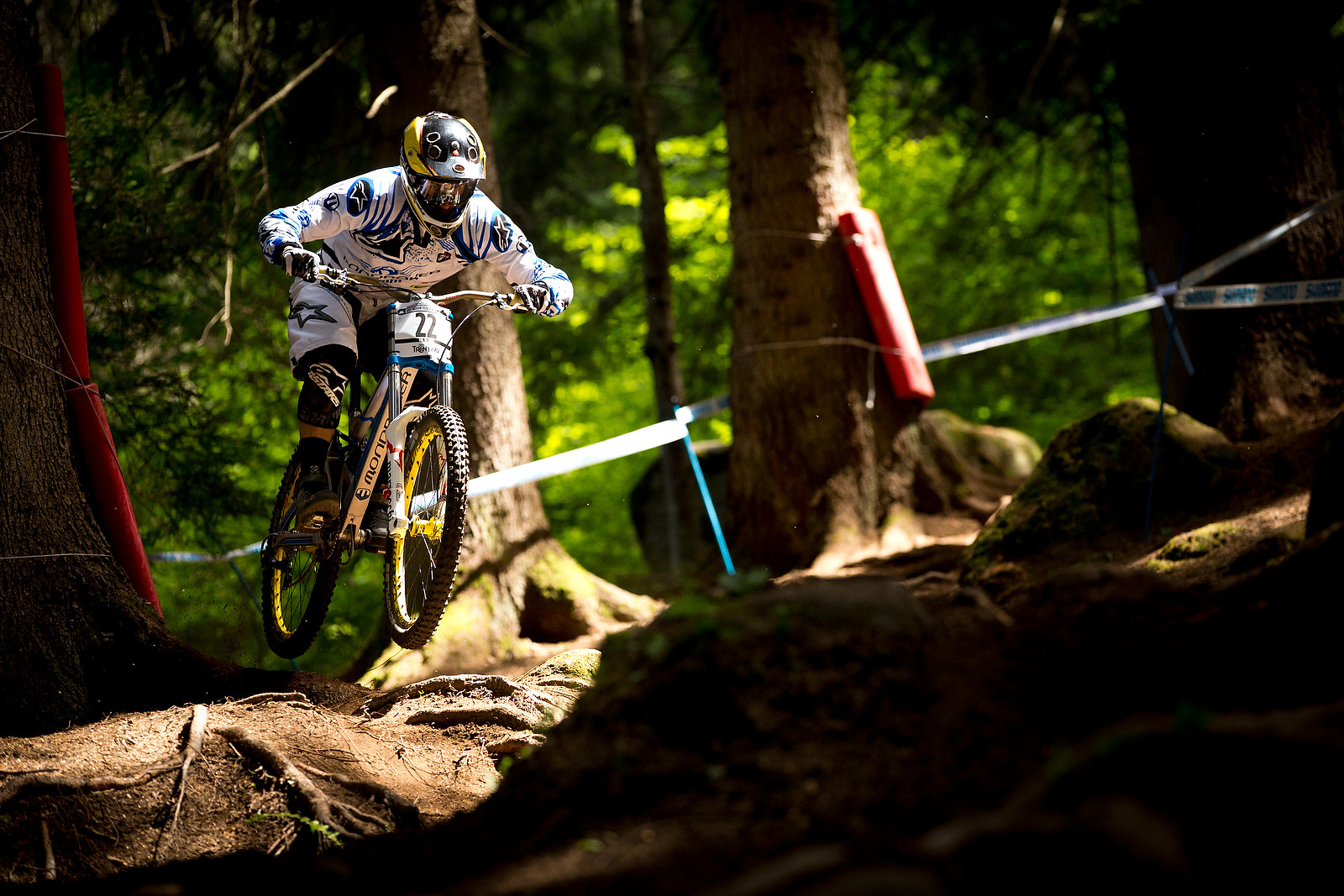 Damien Spagnolo, Fastest in Timed Practice at Val di Sole - 2012 UCI World Cup, Val di Sole Day 2 - Mountain Biking Pictures - Vital MTB