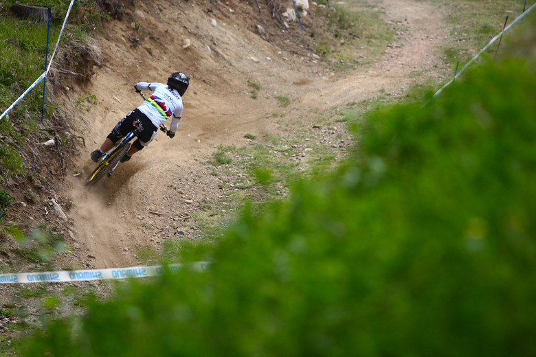 Emmeline Ragot, Fastest in Timed Practice - 2012 UCI World Cup, Val di Sole Day 2 - Mountain Biking Pictures - Vital MTB