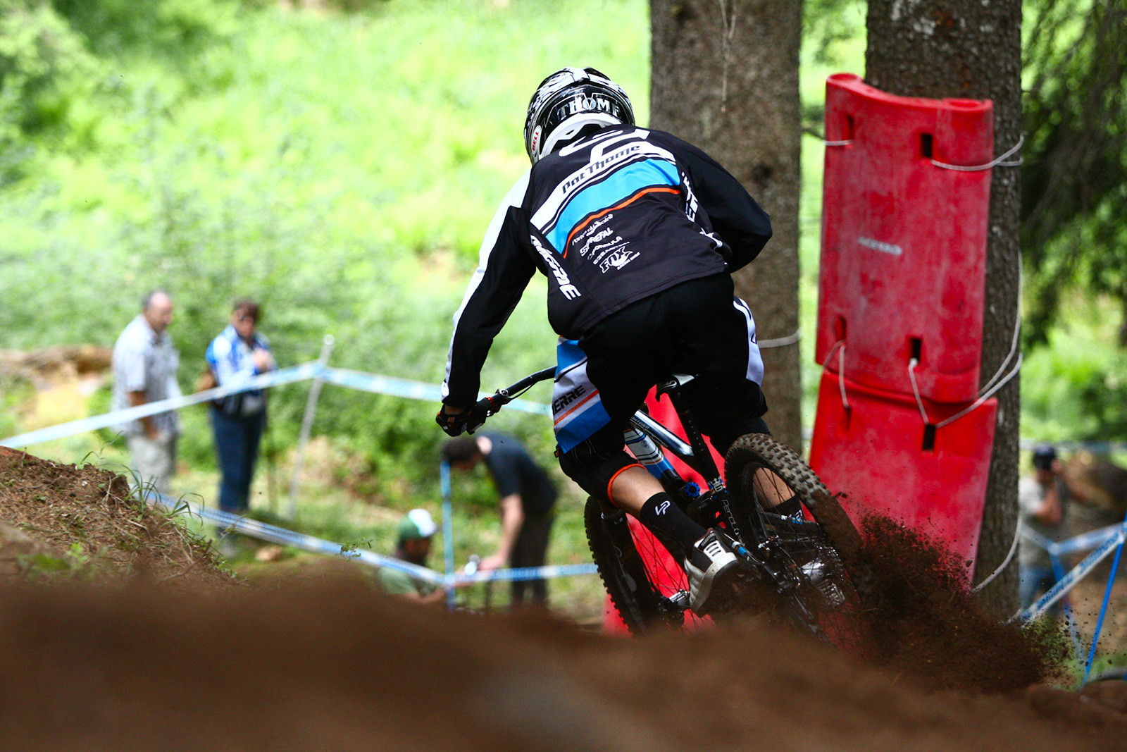 Patrick Thorne in the Loam at Val di Sole - 2012 UCI World Cup, Val di Sole Day 2 - Mountain Biking Pictures - Vital MTB