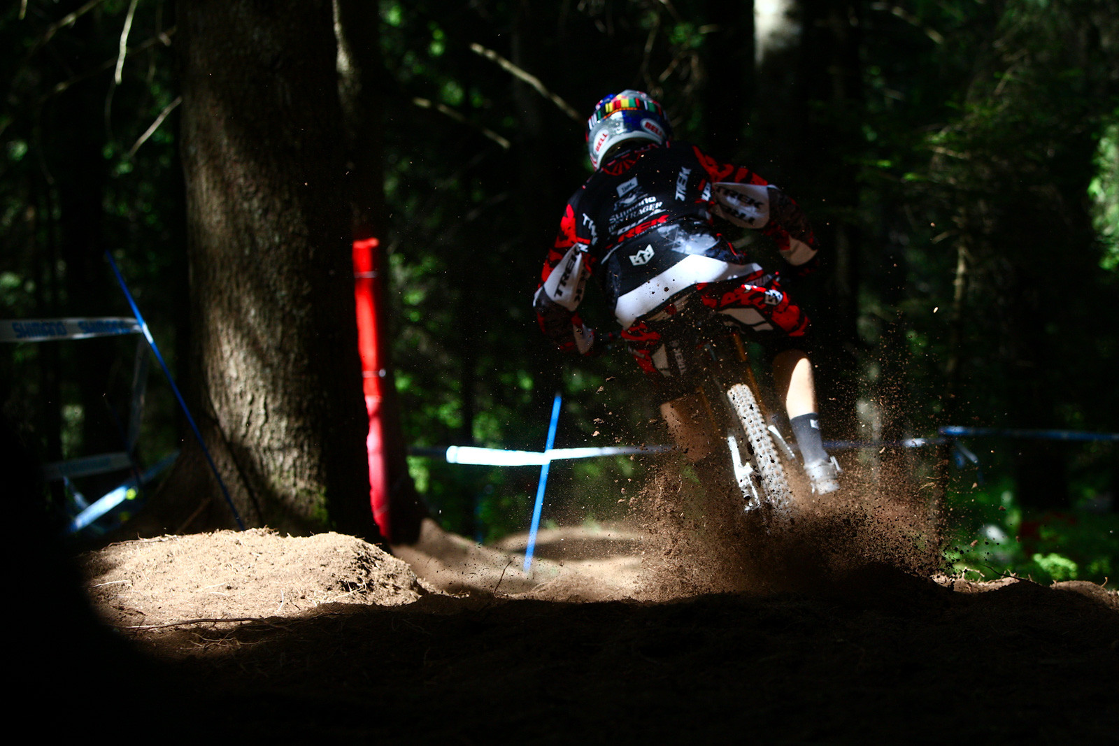 Aaron Gwin at Val di Sole 2012 - 2012 UCI World Cup, Val di Sole Day 2 - Mountain Biking Pictures - Vital MTB