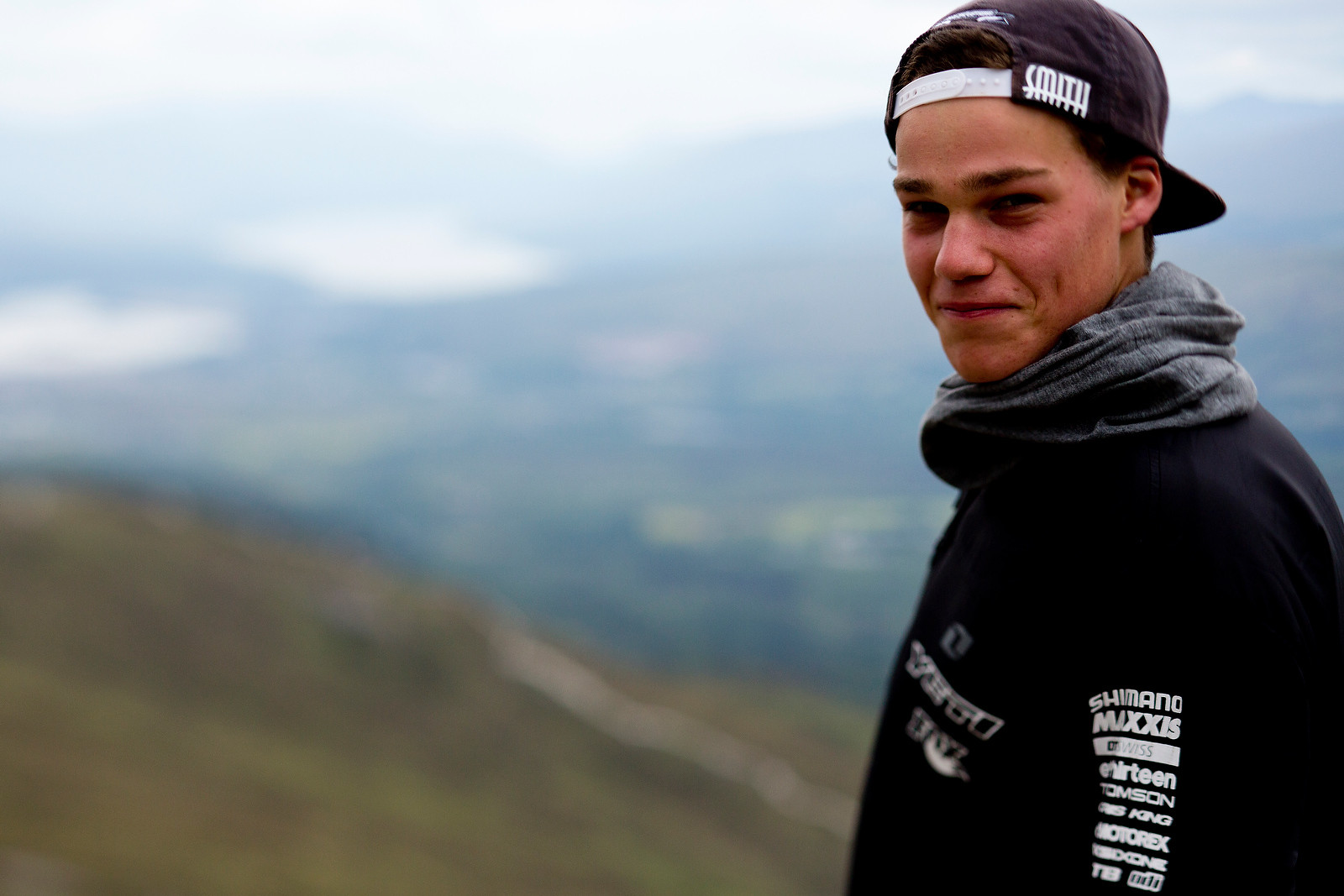 Richie Rude, Ready for Fort William - 2012 UCI World Cup, Fort WIlliam Scotland, Day 1 - Mountain Biking Pictures - Vital MTB