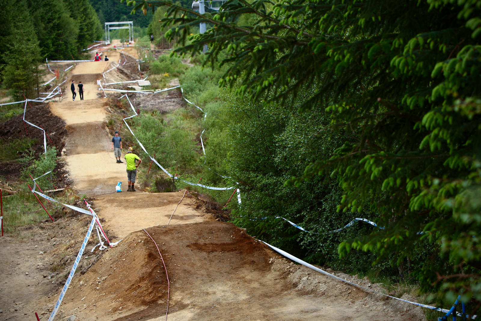 Fort William Motorway Jumps Look Like Pietermaritzburg - 2012 UCI World Cup, Fort WIlliam Scotland, Day 1 - Mountain Biking Pictures - Vital MTB