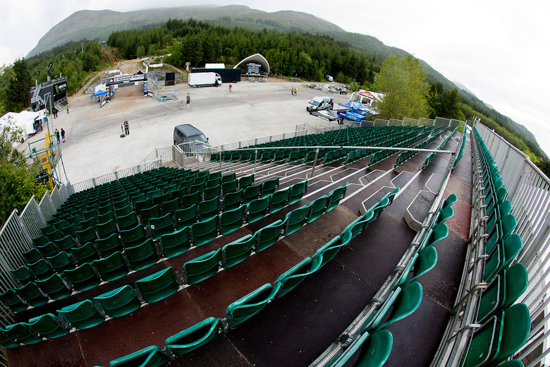 Soon Fort William Will Come to Life - 2012 UCI World Cup, Fort WIlliam Scotland, Day 2 - Mountain Biking Pictures - Vital MTB