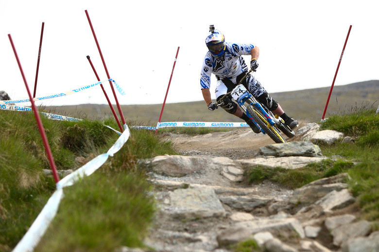 Brook MacDonald at Fort William - 2012 UCI World Cup, Fort WIlliam Scotland, Day 2 - Mountain Biking Pictures - Vital MTB