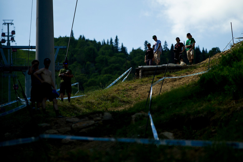 Sam Hill at Mont Sainte Anne - 2012 UCI World Cup, Mont Sainte Anne, Day 1 - Mountain Biking Pictures - Vital MTB