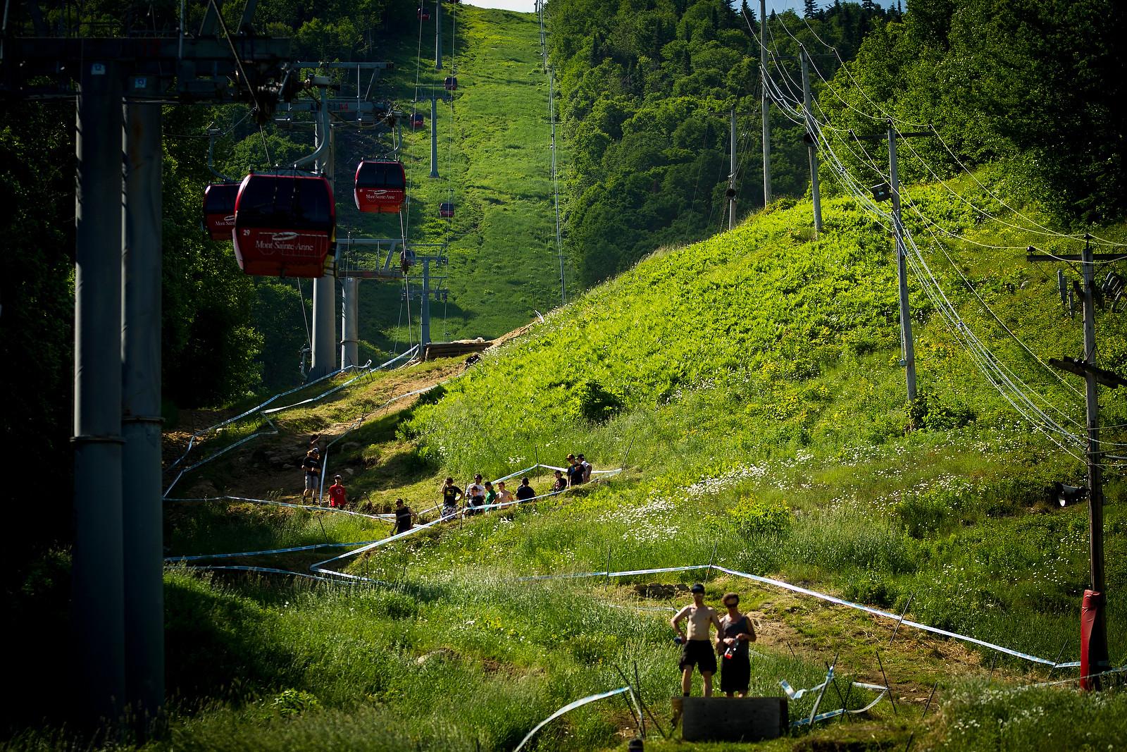 2012 Mont Sainte Anne Track Walk - 2012 UCI World Cup, Mont Sainte Anne, Day 1 - Mountain Biking Pictures - Vital MTB