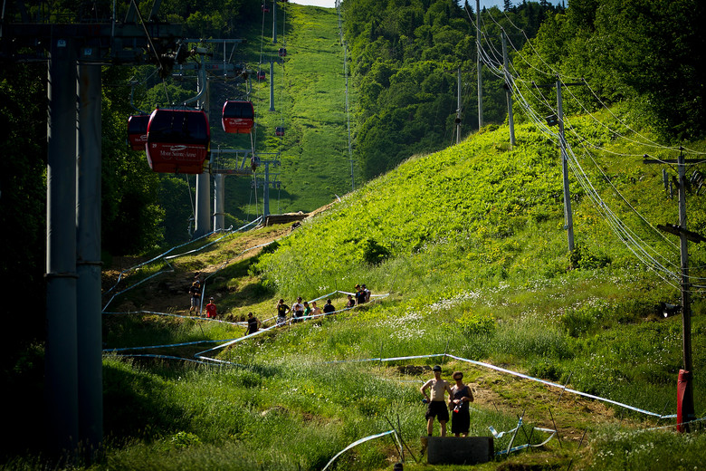 2012 Mont Sainte Anne Track Walk - 2012 UCI World Cup, Mont Sainte Anne, Day 1 - Mountain Biking Pictures - Vital MTB
