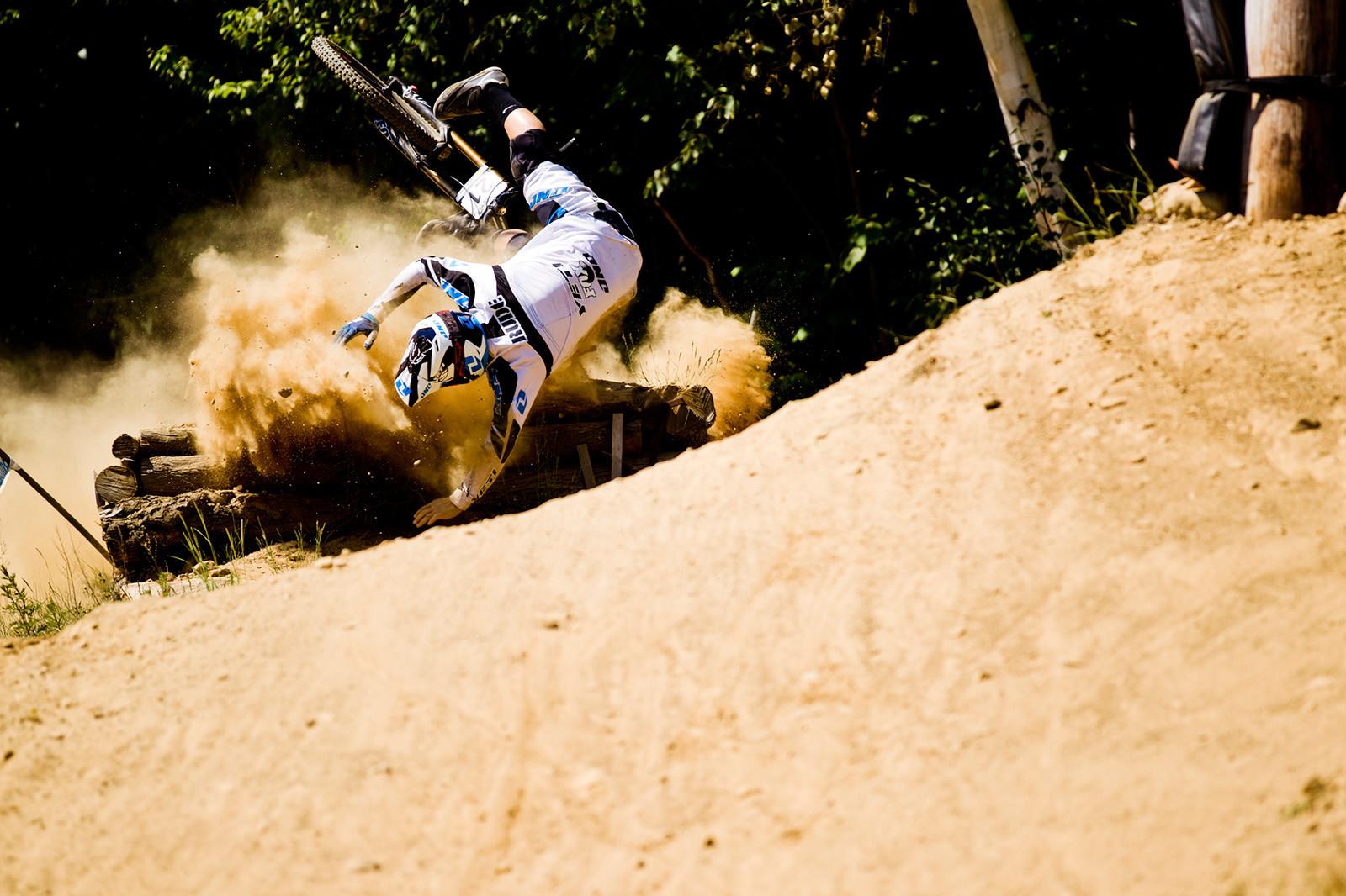 Rude Awakening at Mont Sainte Anne - 2012 UCI World Cup, Mont Sainte Anne, Day 2 - Mountain Biking Pictures - Vital MTB
