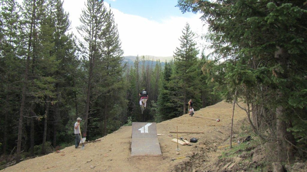 New Jump on Bootcamp at Trestle Bike Park - Trestle Bike Park Boot Camp Trail Updates - Mountain Biking Pictures - Vital MTB