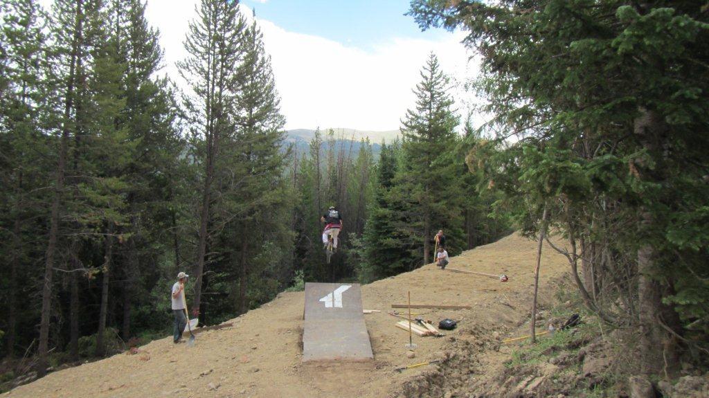 New Jump on Bootcamp at Trestle Bike Park - Trestle Bike Park Boot Camp Trail Updates - Mountain Biking Pictures - Vital MTB