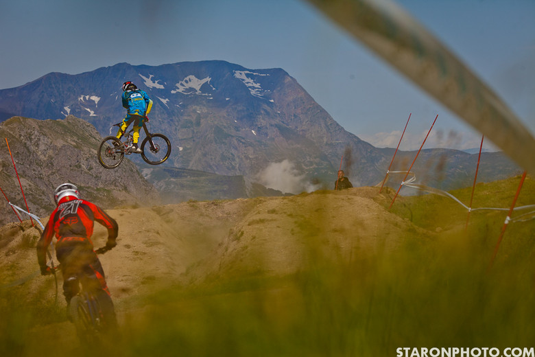 Support the Whip - 2012 Air DH Photo Gallery from Crankworx Les 2 Alpes - Mountain Biking Pictures - Vital MTB