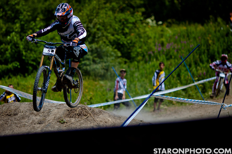 Sam Blenkinsop 2nd Place at Air DH Crankworx Europe - 2012 Air DH Photo Gallery from Crankworx Les 2 Alpes - Mountain Biking Pictures - Vital MTB