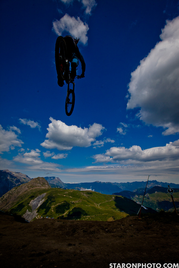 Plenty of Air in the Air DH - 2012 Air DH Photo Gallery from Crankworx Les 2 Alpes - Mountain Biking Pictures - Vital MTB
