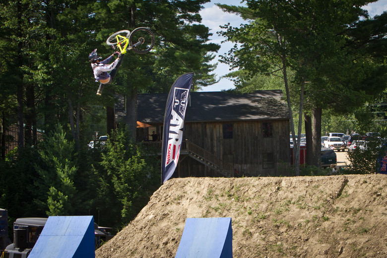 Brett Rheeder's Massive Flipwhip at Claymore Challenge - Semenuk Does It Again and Wins the 2012 Claymore Challenge - Mountain Biking Pictures - Vital MTB