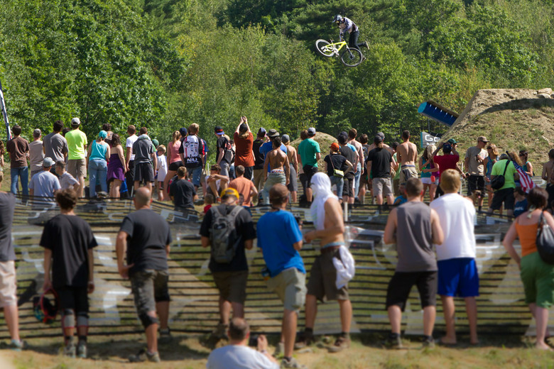 Brett Rheeder Tailwhip off the GoPro Cannon - Semenuk Does It Again and Wins the 2012 Claymore Challenge - Mountain Biking Pictures - Vital MTB