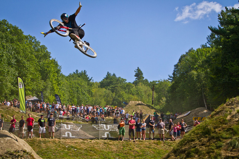 Jakub Vencl 360 Tuck No Hander at Claymore Challenge - Semenuk Does It Again and Wins the 2012 Claymore Challenge - Mountain Biking Pictures - Vital MTB