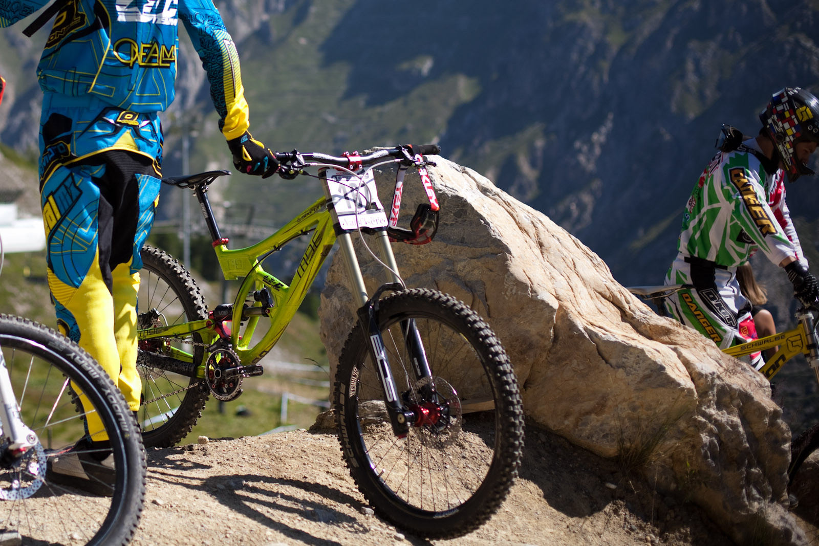 MU Bikes MDE 69 DH - European DH Bikes from Val d'Isere - Mountain Biking Pictures - Vital MTB