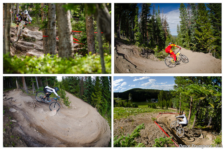 Pitts, Memmelaar, Decker and Pederson at Trestle Bike Park - Colorado Freeride Festival Specialized Enduro - Mountain Biking Pictures - Vital MTB