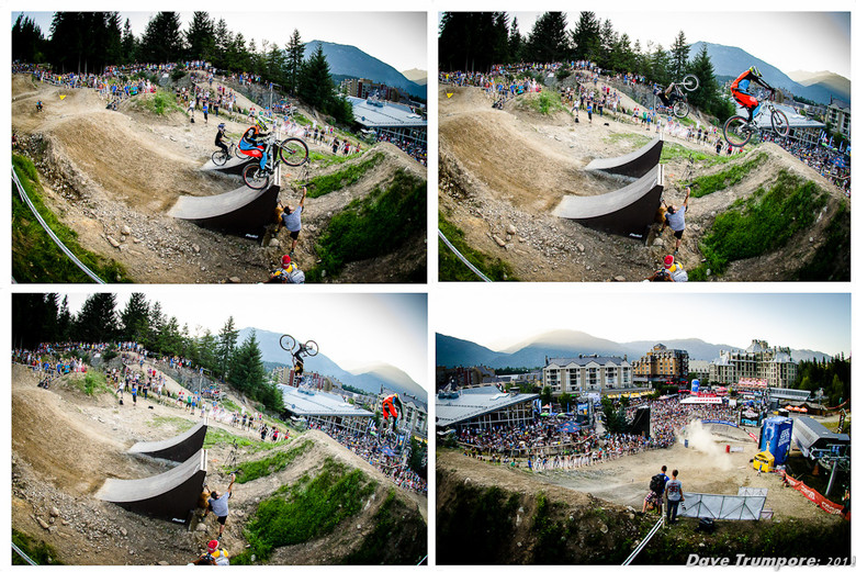 Brendan Fairclough Wins Avid Speed and Style over Andreu Lacondeguy at 2012 Crankworx - 2012 Crankworx Speed and Style - Mountain Biking Pictures - Vital MTB