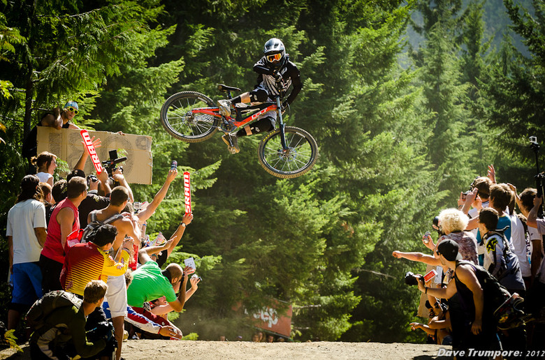 Tyler McCaul with his Winning Whip at Whip Off World Champs 2012 - 2012 Whip Off World Champs Photo Action - Mountain Biking Pictures - Vital MTB