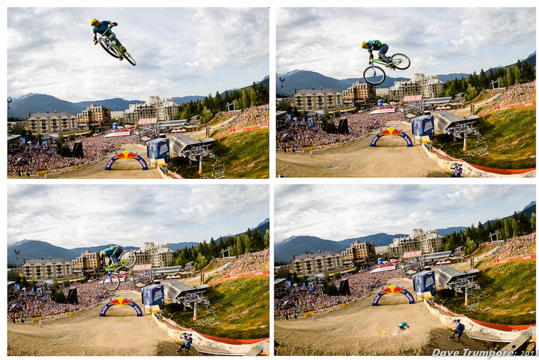 Thomas Genon on His Way to Winning 2012 Crankworx Joyride - 2012 Red Bull Joyride Slopestyle Finals - Mountain Biking Pictures - Vital MTB