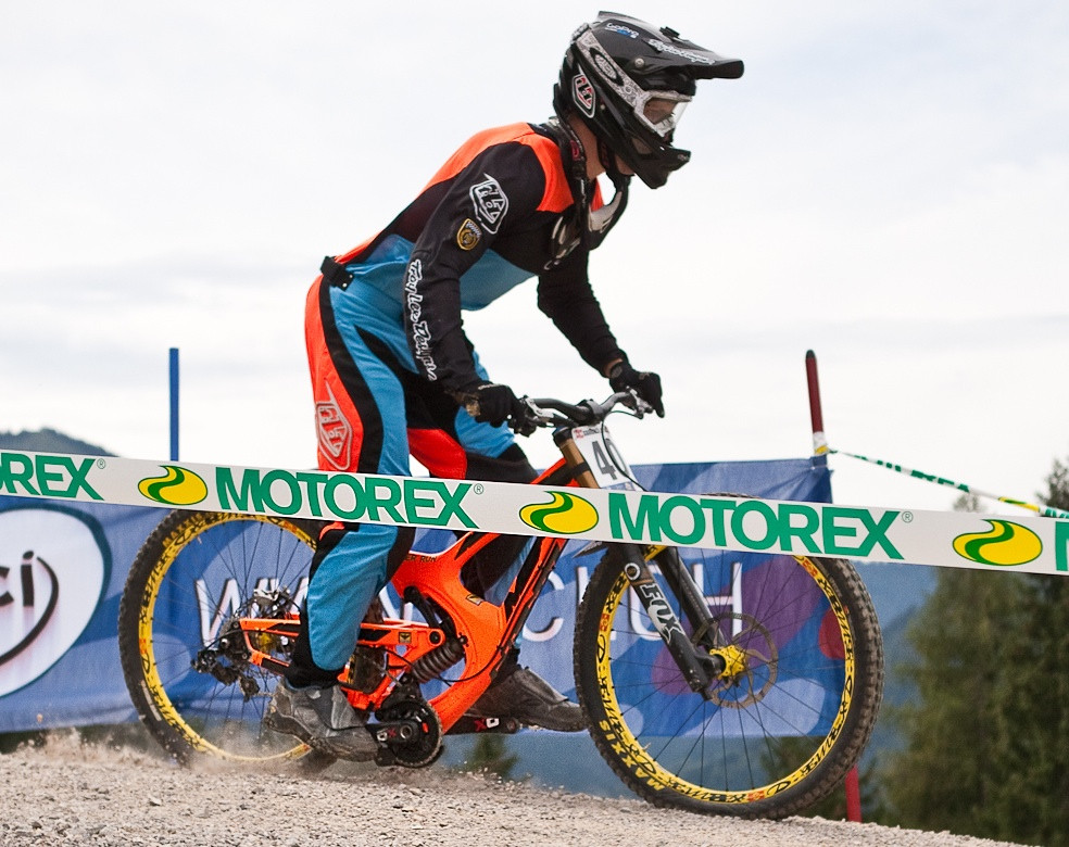Intense M9 Bottomed Out at World Champs - G-Out Project: WORLD CHAMPS IN LEOGANG! - Mountain Biking Pictures - Vital MTB