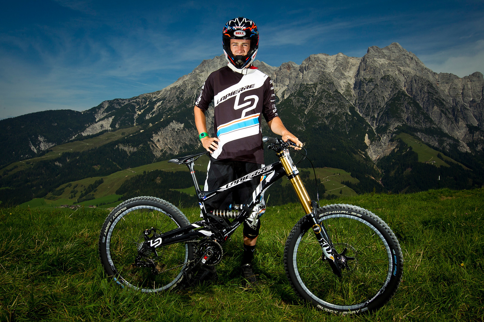 Sam Blenkinsop with his Lapierre - World Championships Riders and Bikes - Mountain Biking Pictures - Vital MTB